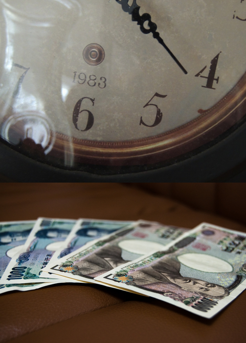 時間を売ってお金に替える